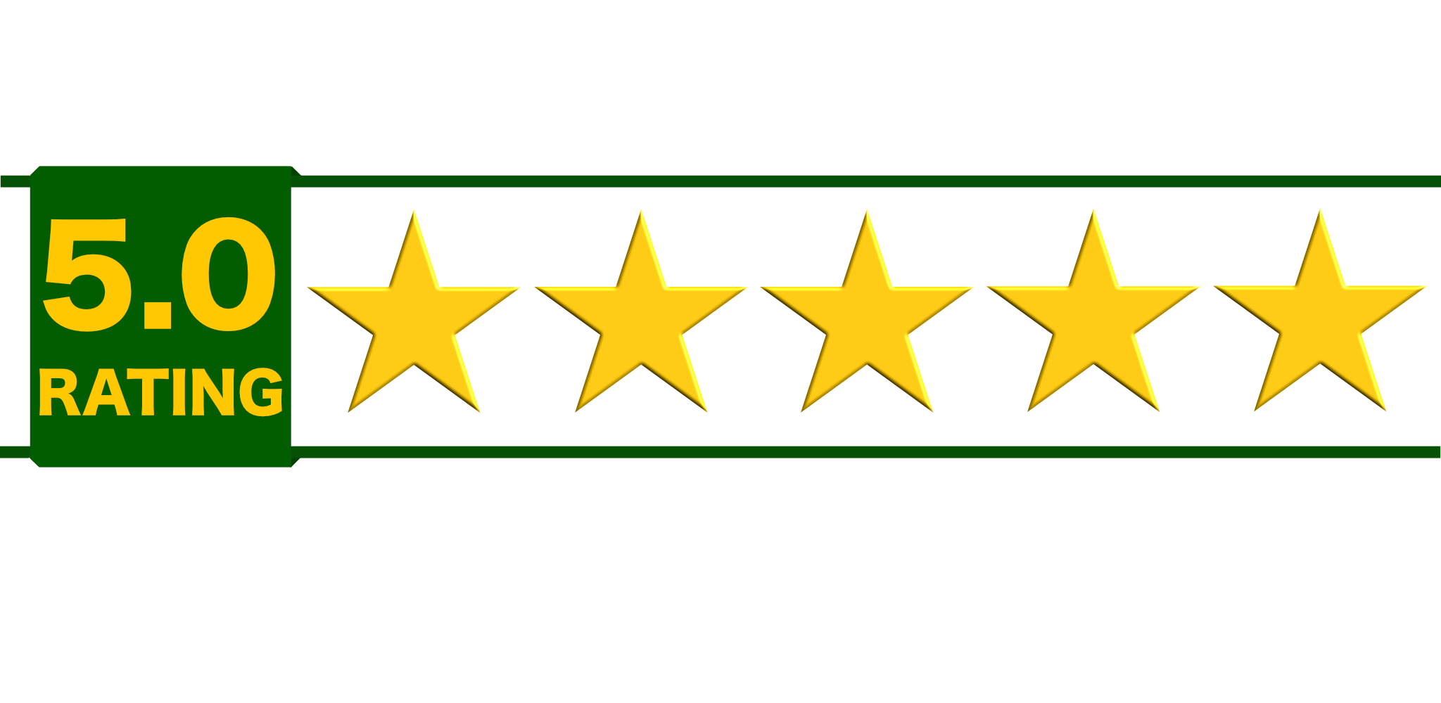 Our 5 star reviews